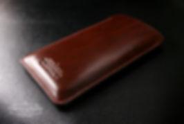 japan hnedá obal z kůže pro iphone xr