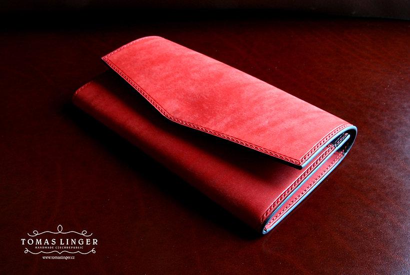 Unisex velká peněženka 190x100 z kůže s možností mnoha úprav