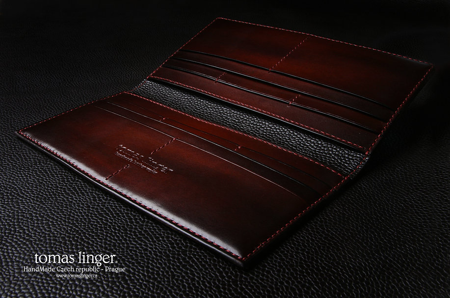 Pánská peněženka prkenice velká na zakázku