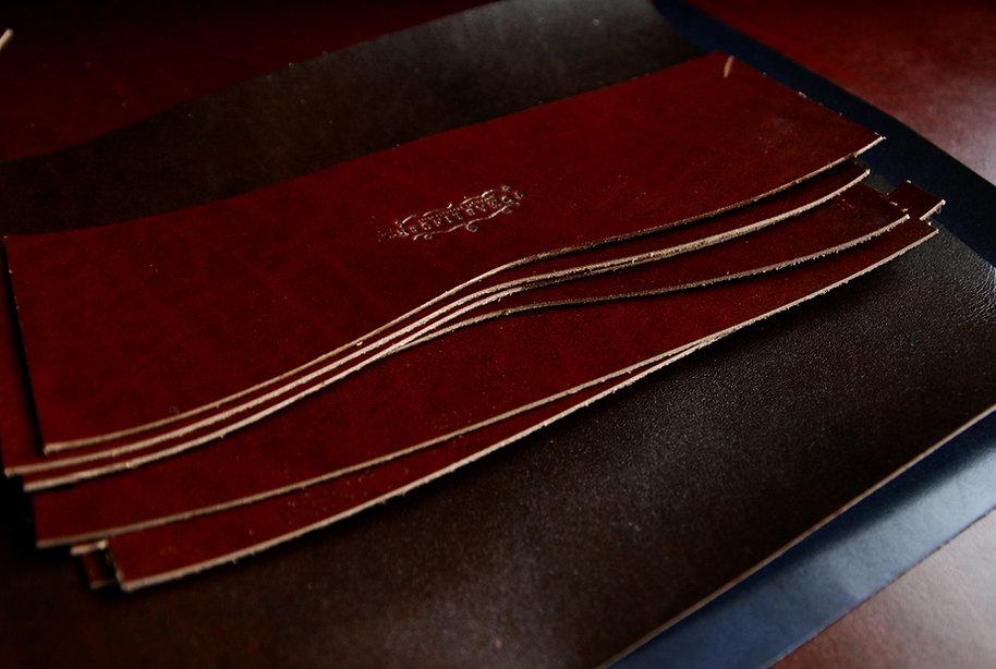 long wallet handmade leather