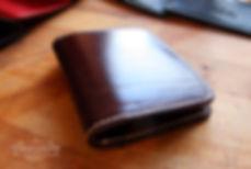 mala penezenka do kapsy z kuze rucne usita a vyrobena