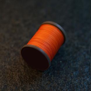 Royal Orange - barva ručního šití na pouzdra pro telefon
