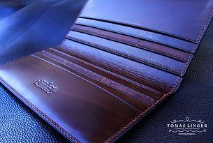 peněženk z pravé kůže na zakázku
