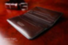 pásnká peněženka na zakázku z kůže ceska republika vyrobeno