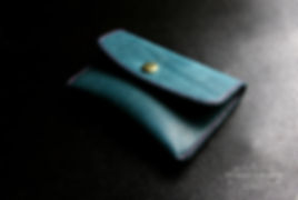 peněženka na drobné a karty z kůže