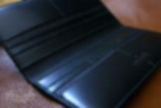 dokladovka černá elegantní luxusní kůže