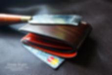 slim mini peněženka z kůže na zakázku kůže