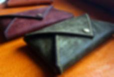 malá peněženka z kůže