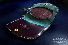 peněženka na drobné z kůže dámská