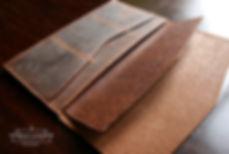robusní peněženka z pravé kůže