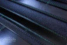 pánská dokladovka na zakázku vyrobená ručně