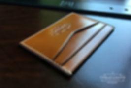 peněženka z kůže pro karty pravá kůže