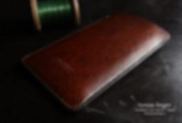 pouzdro pro apple iphone z kůže