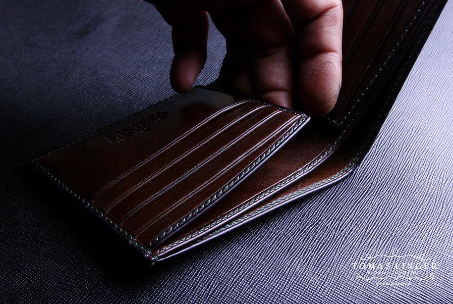 luxusni panská penezenka z kuze