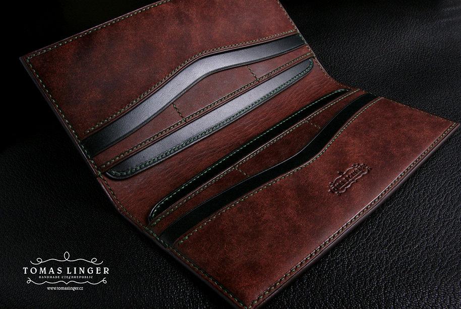 pánská elegantní peněženka z kůže