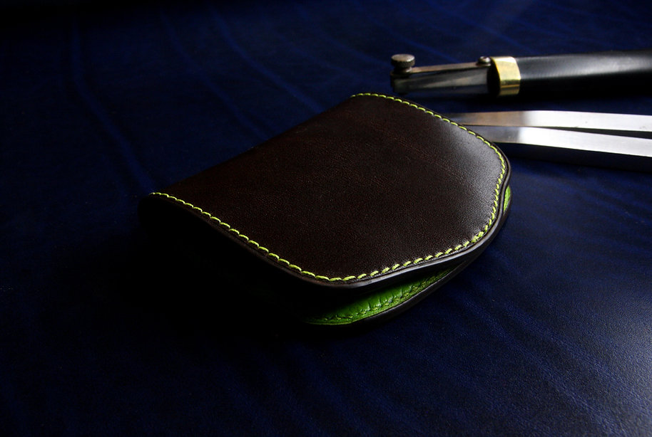 drobné atyp peněženka z kůže