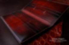 Velká prkenice peněženka pásnká kůže na zakázku česká výroba