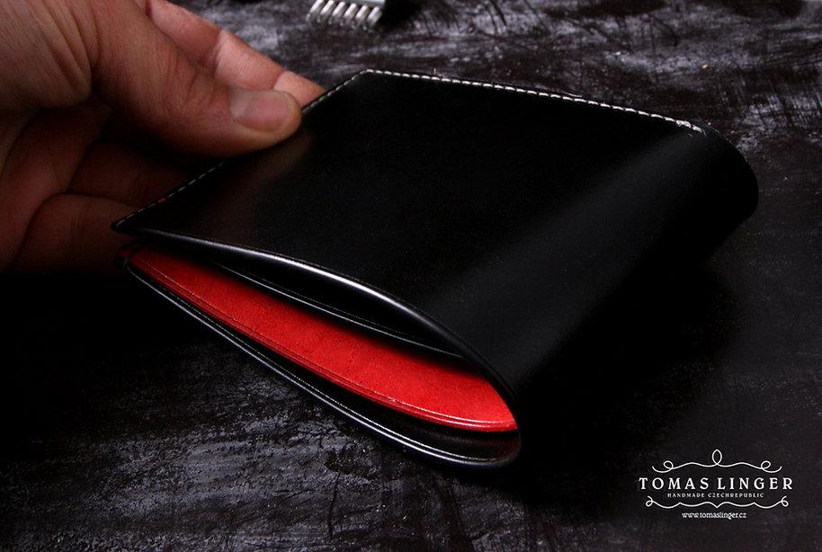 tenká peněženka z kůže