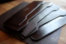 pánská peněženka z pravé kůže ručně ušitá,