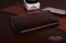 pouzdro iphone 6 s plus kůže růžová