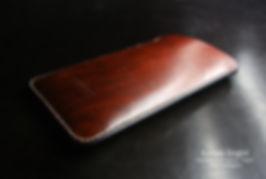 obal pro apple z kůže ručně vyrobené linger