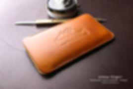 Okrová barva kůže iphone 6 pouzdro