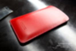 Obal pro Apple iPhone z kůže