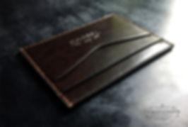 malá jednoduchá peněženka z kůže