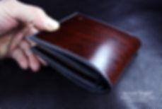 panska penezenka z kuze na zakazku rucni prace