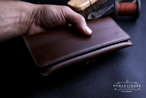 pouzdro pro Apple iphone z kůže. ručně dárek pro ženu.