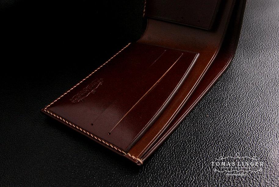 tenká peněženka z kůže tomas linger