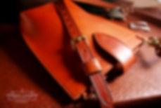 kabelka malá z kuze vyrobena v ceske republice
