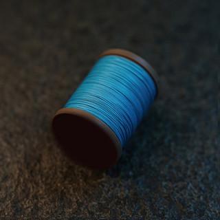 Royal Tyrkys - barva ručního šití na pouzdra pro telefon