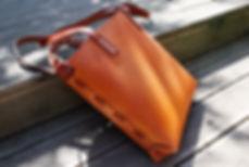 kabelka z pravé kůže
