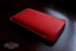 italska-cervena-kuze-pouzdro-pro-telefon