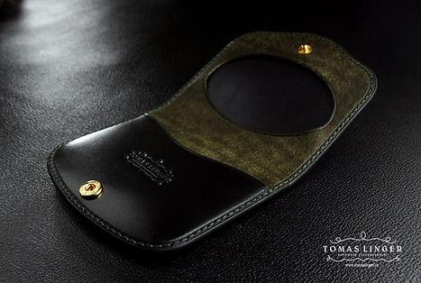 peněženka dárek z kůže. ručně vyrobená