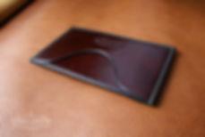 pouzdro pro karty ručně vyrobné na zakýzku