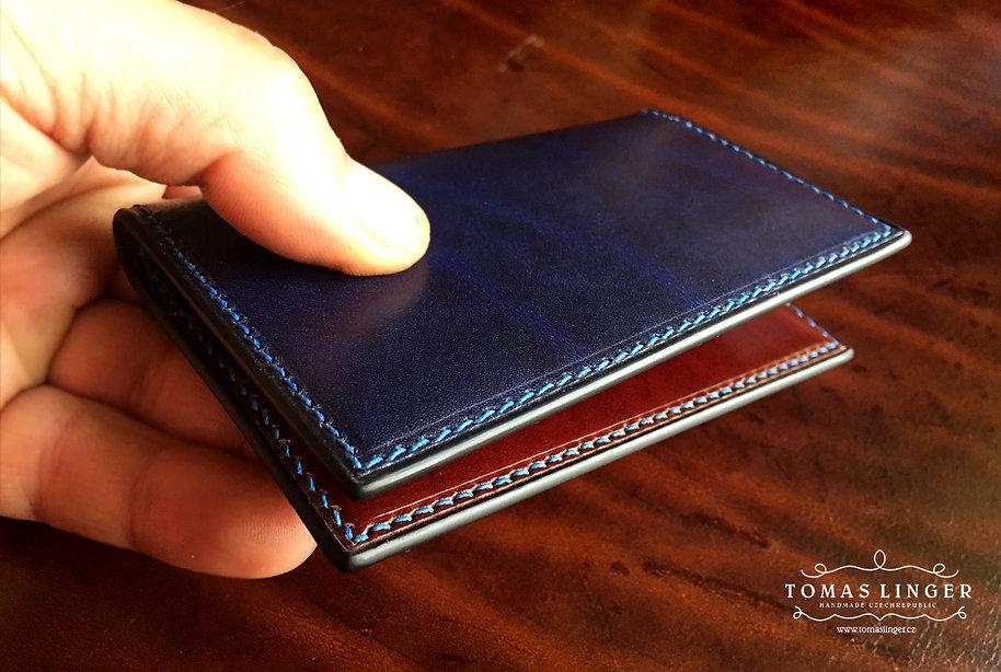 male tenke pouzdro pro karty a vizitky bankovky penezenka