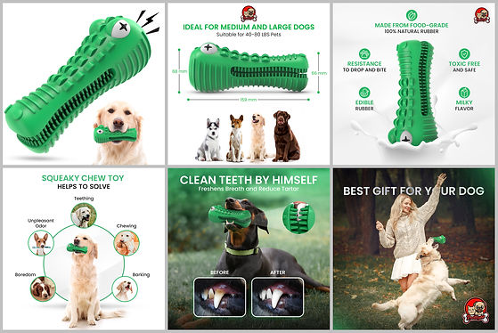 redlight pet dog chew toy for big and me
