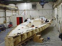 class 40' deck mould