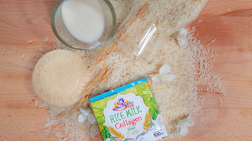 K.Brothers Rice Milk Collagen Soap