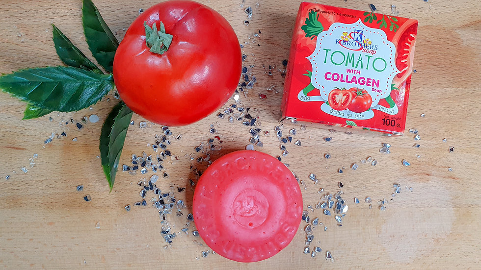 K.Brothers Tomato Collagen Soap