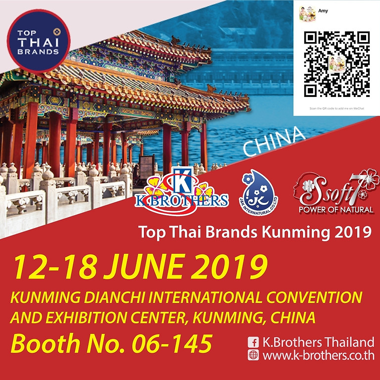 TOP THAI BRANDS KUNMING 2019