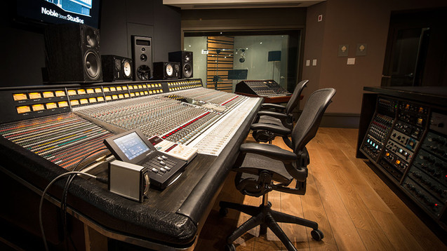 Studio A - Control Room