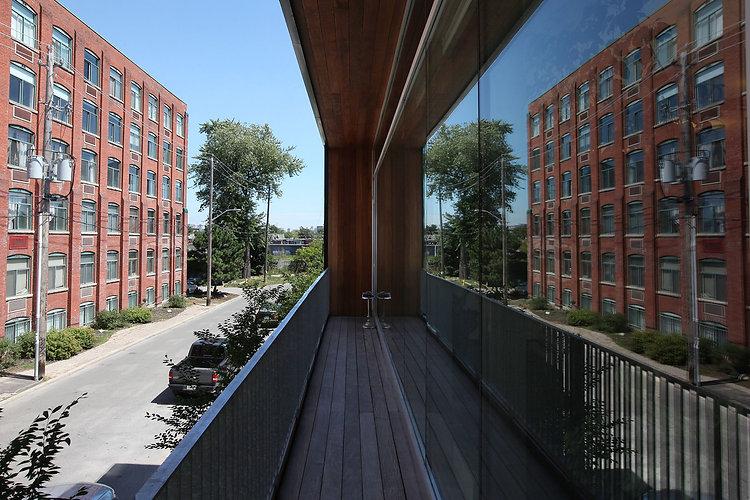 Noble Street Studios - Balcony