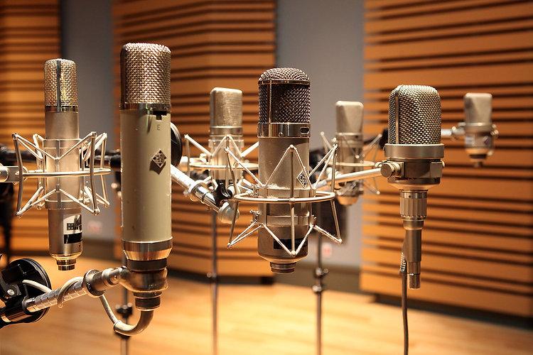 Noble Street Studios - Microphones
