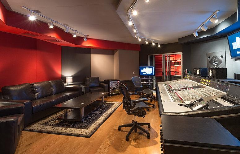 Noble Street Studios #StudioB - Control Room