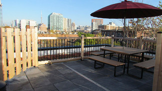 East Rooftop Patio