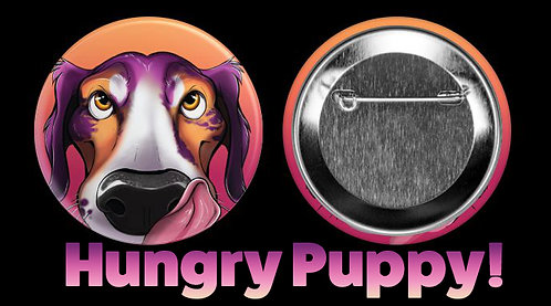 Hungry Puppy Buttons!