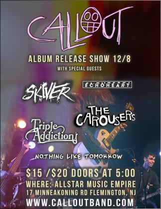 Callout Album Release Show